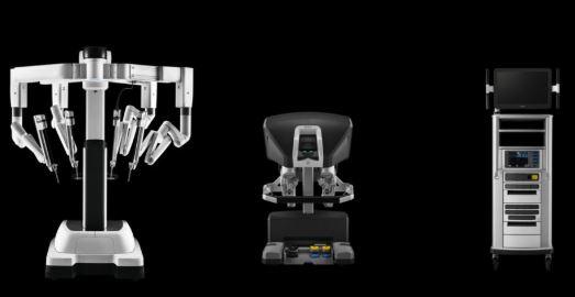 robot quirúrgico Da Vinci para realizar intervenciones quirúrgicas y ciurgía robótica