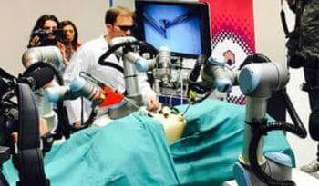 Robot quirúrgico Broca 3D para realizar cirugías robótica en 3 Dimensiones
