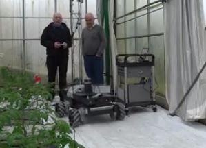 El robot GreenPatrol creado para aumentar las cosechas