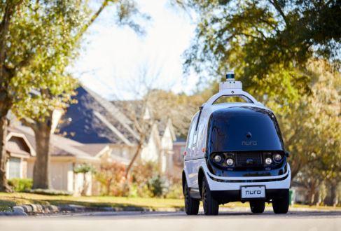 El coche sin conductor Nuro de pruebas en California
