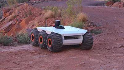 El robot de reconocimiento M6 UGV que logra desplazarse por cualquier superficie